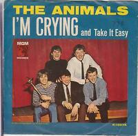 """THE ANIMALS - I'm Crying - 1964 USA MGM 2-trk 7"""" vinyl single in picture sleeve"""