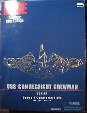 GI JOE ACTION MAN  USS CONNECTICUT CREWMAN  SOUS MARIN