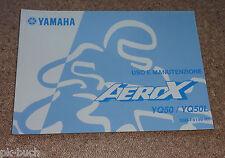 Uso E Manutenzione Yamaha Roller YQ 50 / YQ 50 L Aerox Stand 09/2004