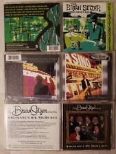 BRIAN SETZER ORCHESTRA 3 CD LOT: DIRTY BOOGIE-GUITAR SLINGER-WOLFGANGS NIGHT OUT