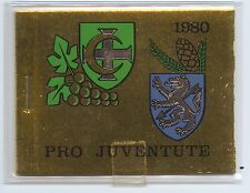 Switzerland, 1980 Pro Juventute Booklet, complete, MNH, unexploded, superb