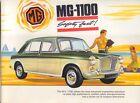 MG 1100 Mk 1 Original UK Sales Brochure  Pub. No. 2359A not dated circa 1966