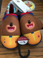 Hey Duggee Kids Slippers Size UK 12-13 BNWT