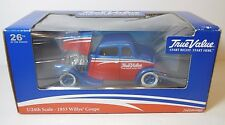 New NIB 2007 1/24 1933 WILLYS COUPE HOT ROD CAR TRUE VALUE ADVERTISING ERTL USA