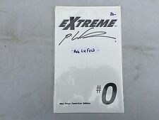 EXTREME BLANK COVER   SAN DIEGO COMIC CON EDITION signed by rob liefeld