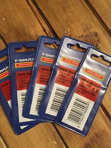 10 Pack Of 1.5mm HSS Drill Bits