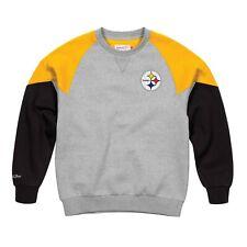Pittsburgh Steelers NFL Mitchell & Ness Men's Grey Men Sweatshirt