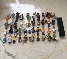 40 Genuine LEGO® Collectible Series Minifigures Zombie Pirate Wizard Pizza Boy +