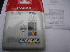Canon cli-551z multi pack cli-551 C y M BK 509b009 PIXMA ip7250 mg 5450 mx-925
