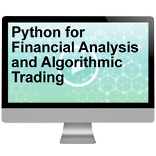 Python for Financial Analysis and Algorithmic Trading Video Tutorial Training
