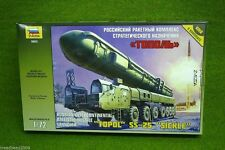 "« Topol » SS-25 ""De la Hoz"" ruso de misiles balísticos Lanzador 1/72 Zvezda 5003"
