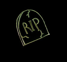 Punky Pines lápida Rip Negro Esmalte Pin. cementerio. cementerio. Halloween.