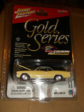 JOHNNY LIGHTNING GOLD SERIES COLLECTOR CLUB EXCLUSIVE 1967 CHEVY CHEVELLE SS