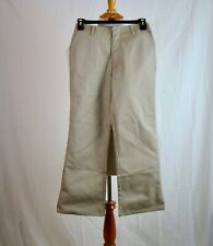 GIRLS K12 GEAR Khaki School Uniform Flare Leg Pants NEW NWT - Size 10
