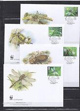Belarus 2010 - FDC - Vlinders/Butterflies/Schmetterlinge -> WWF