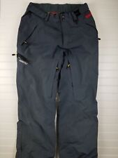 Marker Snow Pants size Medium M Lined Mens Ski Snowboard Gray winter Gore Tex