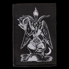 Baphomet - Gott Aufnäher/Patch, SATAN GOTT 666 PENTAGRAMM HÖLLE GÖTZE