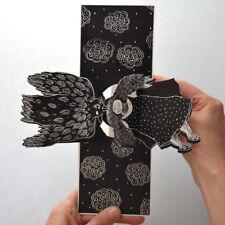 Dans les nuages -Carte Pop Up - Pop Up Card - Carte 3 D - Livre d'artiste