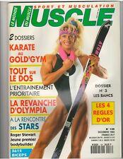 Le Monde Du MUSCLE #128 bodybuilding magazine/Anja Schreiner 12-93 (Fr)