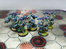 Warhammer 40K Chosen Choas Space marine Alpha Legion Painted