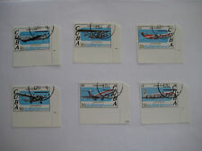 Stamps   Spanish Carribean 1979  Airplane Series