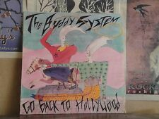 "BUDDY SYSTEM, GO BACK TO HOLLYWOOD - 12"" SINGLE CHEP 8610"