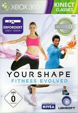 Kinect YOUR SHAPE FITNESS EVOLVED Classics Fitness Trainer Game-xBox 360