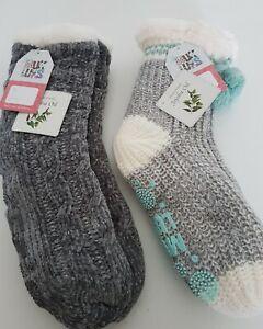 Muks Luks Slipper Socks Qvc Size Small- Medium