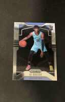 2019-2020 Panini Prizm NBA Ja MORANT Base Rookie Card Memphis Grizzlies #249 RC