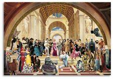Kunstdruck Poster Renato Casaro 100 years of film hochwertig gedruckt 70x100