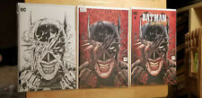 BATMAN WHO LAUGHS #1~Tony Daniel  *3 BOOK LOT*~ TORPEDO VARIANT DC BRAND
