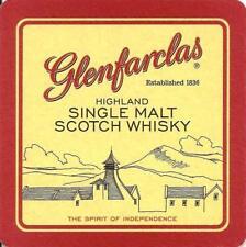 Glenfarclas Highland Single Malt Scotch Whisky beer mat - from UK (ref #74)