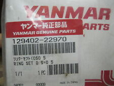 Yanmar Engine Mini Excavator Piston Rings 050 MM Oversize 129402-22970