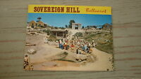 OLD AUSTRALIAN POSTCARD VIEW FOLDER, 1970s SOVEREIGN HILL BALLARAT VICTORIA