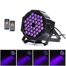 UV Par Schwarzlicht 36 LED Blacklight Strahler Licht Effekt DMX512 + 2 Remote DE