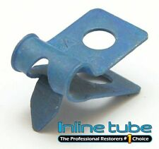 Factory OEM 5/16 Single R Style with Tab Brake Fuel Line Clamp Clip Blue