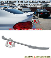 M Sport Performance Style Trunk Spoiler (ABS) Fit 14-18 BMW F36 4dr Gran Coupe