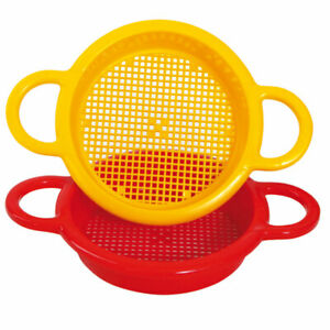 Gowi Toys Sieve (Pack of 2) Sand, Water, Soil Play Learn Toys