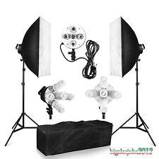 Neuf Studio Soft box Photo Eclairage Continu Kits Softbox Soutien BPS 1900W FR