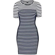 Topshop Stripe Body Con Dress Size 8 us NWT $58