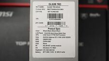 "MSI 15.6"" GL62M 7RD i7-7700HQ Nvidia GTX 1050 8GB 256GB SSD Gaming Laptop FullHD"