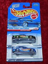 1998 Hot Wheels First Editions/Race Series Iv Mustang Cobra & Mercedes C 2 Pk