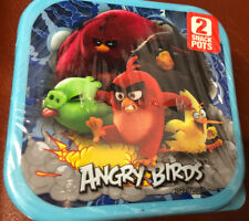 Angry Birds Small Square Snack Box X 2