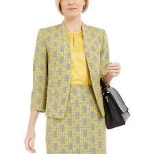 Kasper para mujer Jacquard Traje Chaqueta Blazer Petites BHFO separadas Workwear 2359