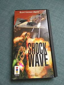 Shock Wave 3DO Game Big Box with instructions