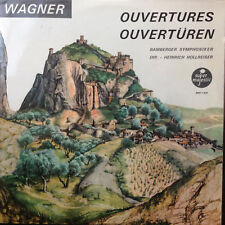 Wagner- Ouvertüren - Bamberger Symphoniker - Hollreiser -BBH1420 - Vinyl LP F8