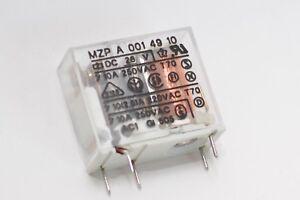 Miniatur-Leistungs-Relais Gavazzi Typ MZP A 001 49 10, 26 V / 10 A / 250 VAC