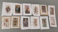 2020 Série 12 timbres oblitérés - Carnet Un cabinet de curiosités