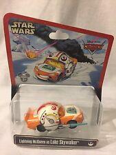 Disney Pixar Cars Lightning Mcqueen as Luke Skywalker Star Wars Weekends 2013