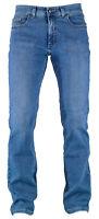 PIONEER RON mid blue light used look Herren Five Pocket Denim Jeans 1144 9733.06